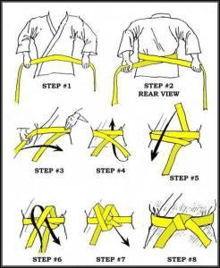 Tying belt
